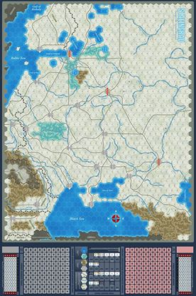 Picture of Stalingrad Map by J. Cooper
