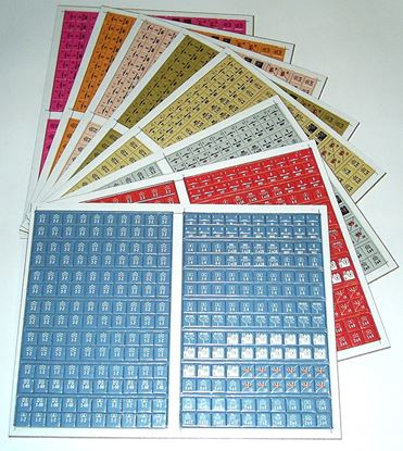 Picture of Blitzkrieg Modular Counters - by the sheet/color