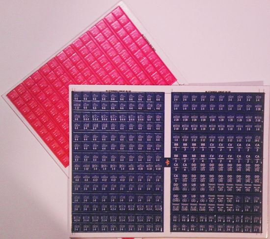 Picture of Blitzkrieg Replacement Counters - Blue & Red