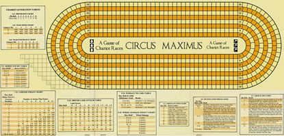 Picture of Circus Maximus Map, Reengineered, half inch squares