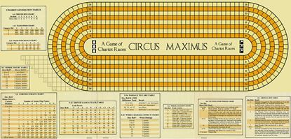 Picture of Circus Maximus Map, Reengineered, one inch squares