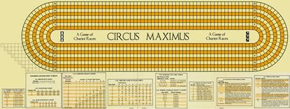 Picture of Circus Maximus Map, Reengineered, Long, one inch squares