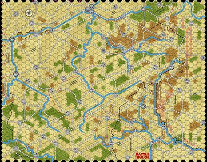 Picture of Battle of the Bulge 81 Summer Half Inch Map
