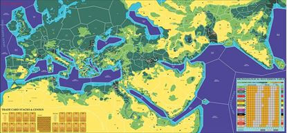 Picture of Advanced Expanded Civilization 18 player Map