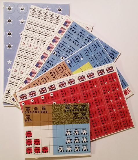Picture of VITP Victory in the Pacific Variant & Replacement Counters