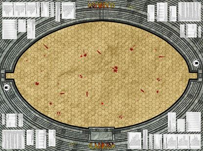 Picture of Gladiator Colesseum Map