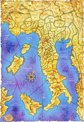 Picture of Machiavelli Map 2nd Ed - 36x48