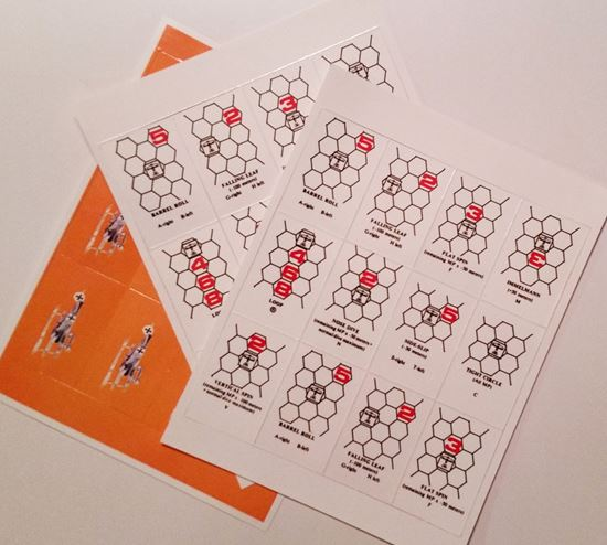 Picture of Richthofen's War Maneuver Cards