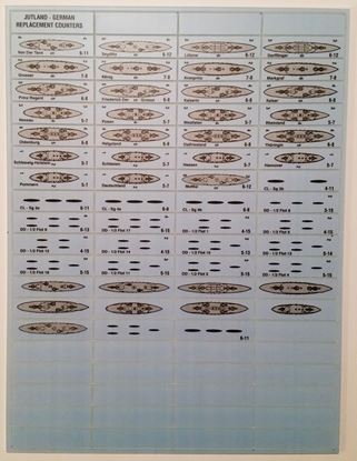 Picture of Jutland German Replacement Counters