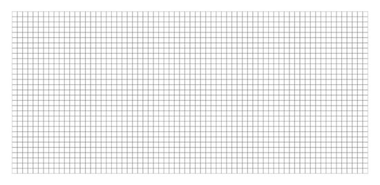Picture of Blank Grid Map 36x72 Double Sided
