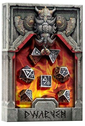 Picture of Metal Dwarven Dice, Set of 7