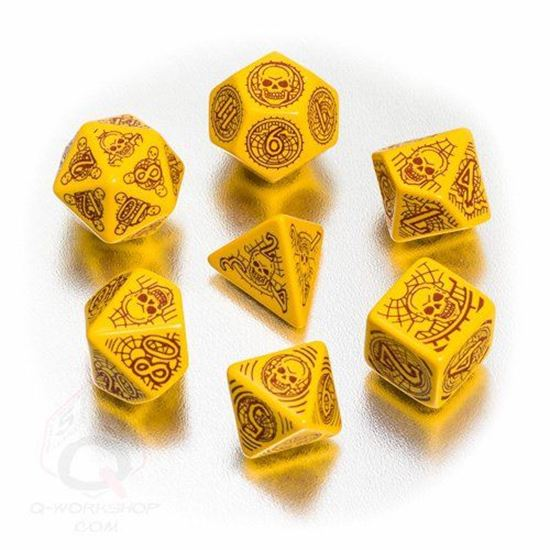 Picture of Patfinder: Skull & Shackles Dice Set of 7