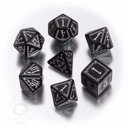 Picture of Pathfinder Carrion Crown Dice, Set of 7
