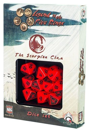 Picture of Legend of the Five Rings: The Scorpion Clan, 10d10