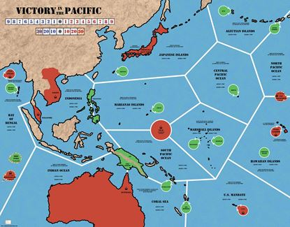 Picture of VITP Victory in the Pacific Redesigned Map, revised