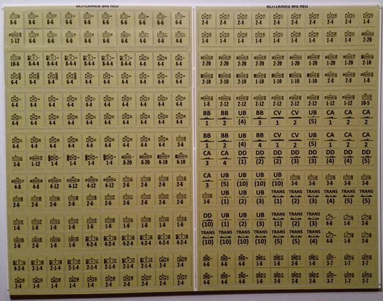 Picture of Blitzkrieg Replacement Counters - Production Overrun - Tan/Yellow