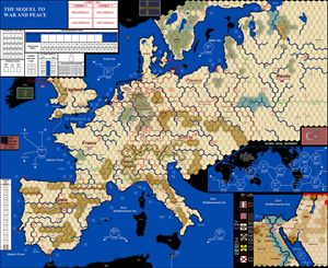 Picture of War and Peace VASSAL Map 4th Ed WaP