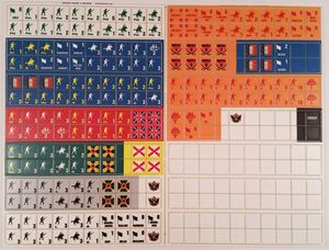 Picture of War and Peace Variant Counters WaP