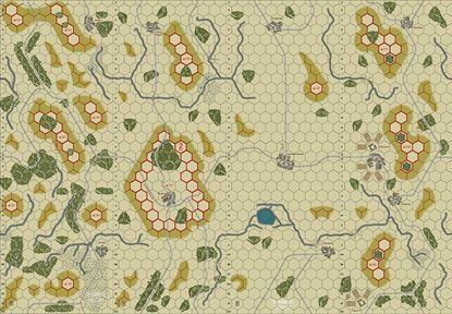 Picture of Imaginative Strategist Panzer Blitz Map Set 1234 5/8 inch