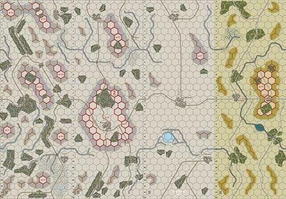 Picture of Imaginative Strategist Panzer Blitz Map Set 123winter5 5/8 inch