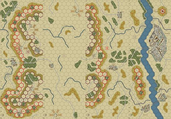 Picture of Imaginative Strategist Panzer Blitz Map Set 10111213 5/8 inch