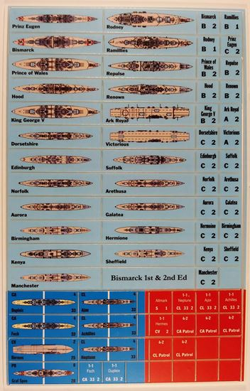 Picture of Bismarck Variant Counters - in color