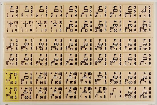 Picture of The Longest Day TLD Variant Counters