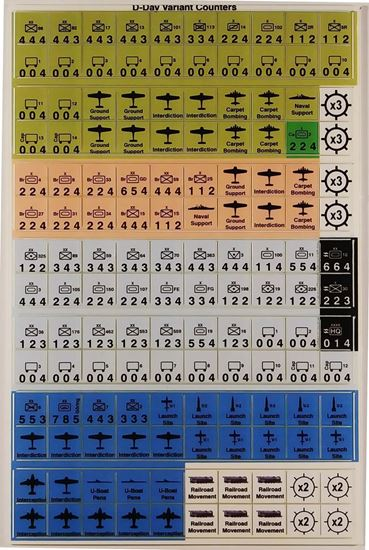 Picture of D-Day Variant Counters
