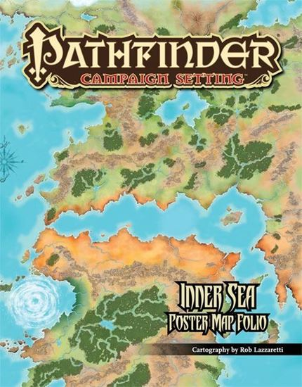 Picture of Pathfinder Campaign Setting Inner Sea Poster Map Folio