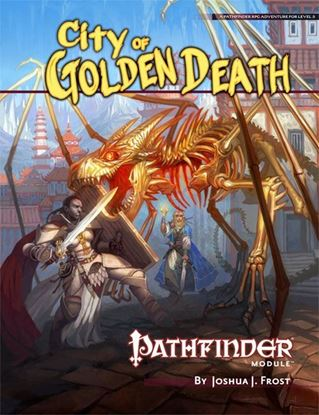 Picture of Pathfinder Module: City of Golden Death