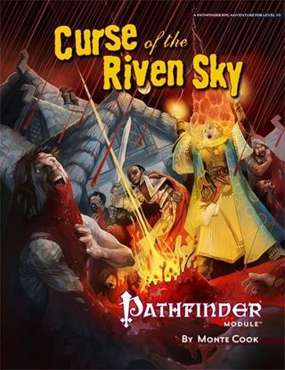 Picture of Pathfinder Module: Curse of the Riven Sky