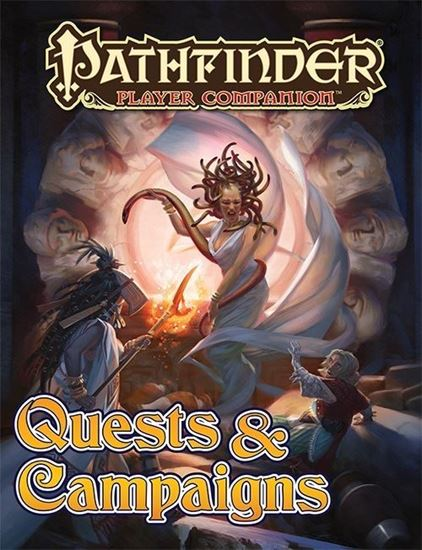 Picture of Pathfinder Player Companion: Quests & Campaigns