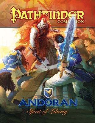 Picture of Pathfinder Companion: Andoran, Spirit of Liberty