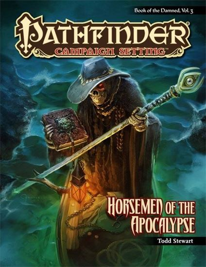 Picture of Pathfinder Campaign Setting: Book of the Damned—Volume 3: Horsemen of the Apocalypse