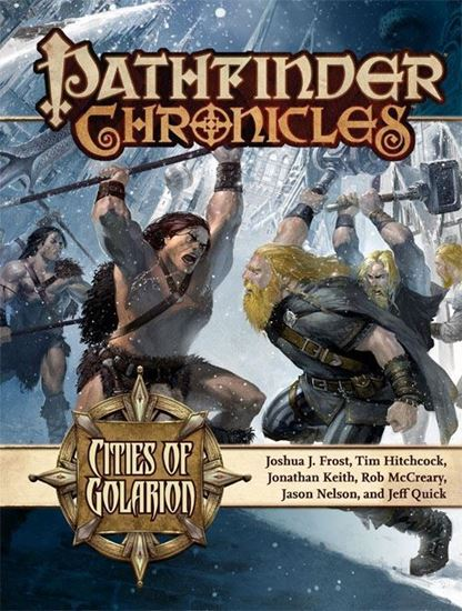 Picture of Pathfinder Chronicles: Cities of Golarion
