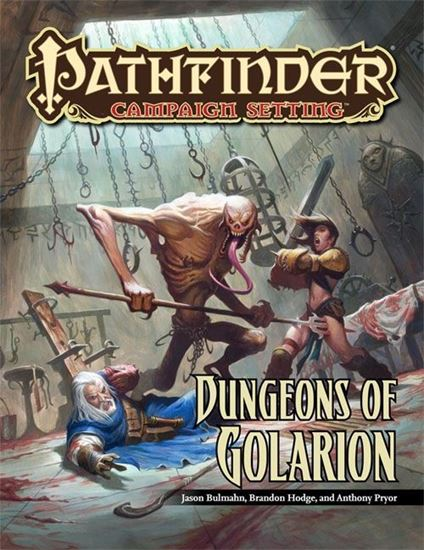 Picture of Pathfinder Campaign Setting: Dungeons of Golarion