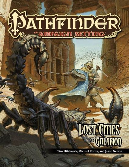 Picture of Pathfinder Campaign Setting: Lost Cities of Golarion