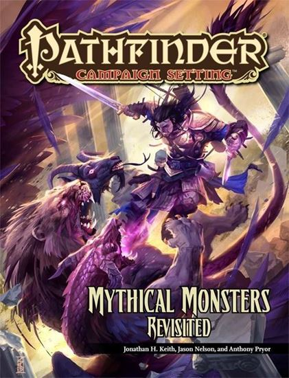 Picture of Pathfinder Campaign Setting: Mythical Monsters Revisited