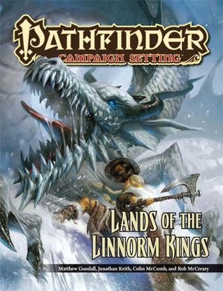 Picture of Pathfinder Campaign Setting: Lands of the Linnorm Kings