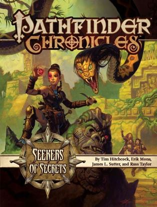 Picture of Pathfinder Chronicles: Seekers of Secrets—A Guide to the Pathfinder Society