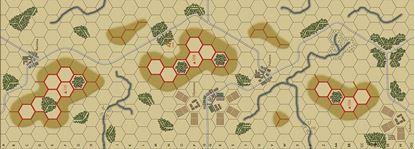 Picture of Imaginative Strategist Panzer Blitz Map 4 - 5/8 inch