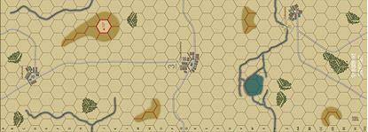 Picture of Imaginative Strategist Panzer Blitz Map 3 - 5/8 inch