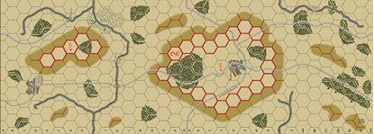 Picture of Imaginative Strategist Panzer Blitz Map 2 - 5/8 inch