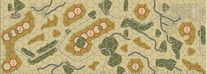 Picture of Imaginative Strategist Panzer Blitz Map 1 - 5/8 inch