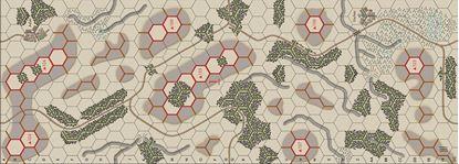 Picture of Imaginative Strategist Panzer Blitz Map 1 Winter - 5/8 inch