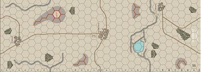 Picture of Imaginative Strategist Panzer Blitz Map 3 Winter - 5/8 inch