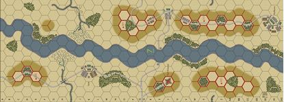 Picture of Imaginative Strategist Panzer Blitz Map 7 - 5/8 inch