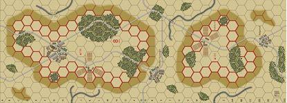 Picture of Imaginative Strategist Panzer Blitz Map 8 - 5/8 inch