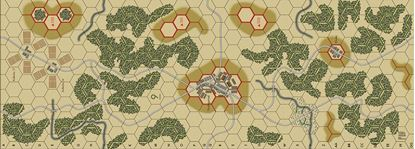 Picture of Imaginative Strategist Panzer Blitz Map 9 - 5/8 inch