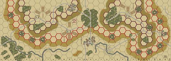 Picture of Imaginative Strategist Panzer Blitz Map 10 - 5/8 inch